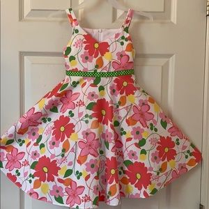Plum Pudding fit and flare Floral dress